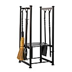 UniFlame® W-1198 Olde World Iron All-In-One Log Rack with Tools