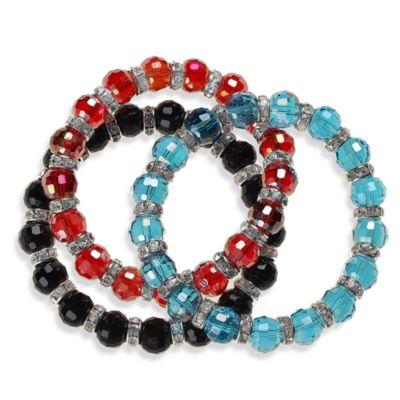 "B""ICONIC™ Brandi Crystal Bracelet - Black"