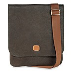 Bric's One-piece Olive Men's Grooming Bag