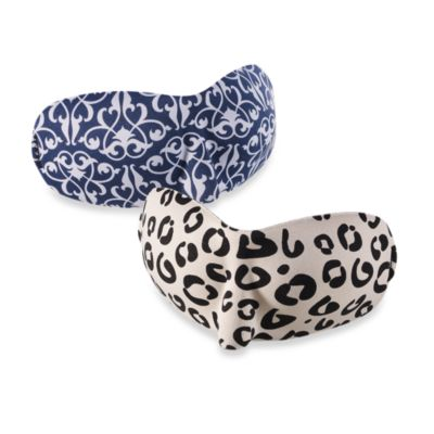 PB Travel Luxury Eye Mask in Leopard