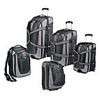 High Sierra Expandable Grey Travel Duffels