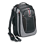 High Sierra AT607 Grey Carry On Travel Bag with Backpack Straps