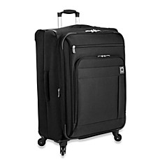 DELSEY Helium Superlite Spinners 24-Inch Expandable in Black