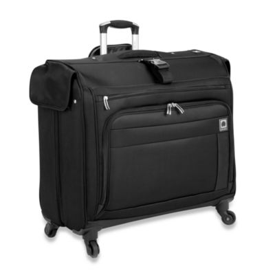 Delsey Helium Superlite Spinners Black Trolley Garment Bag