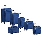 DELSEY Helium Superlite Spinner Luggage Collection in Blue