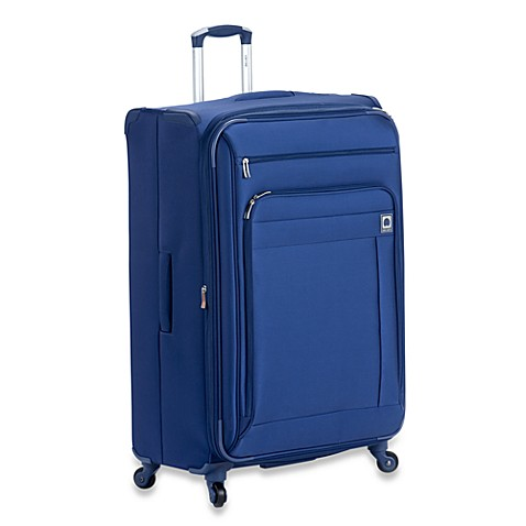 DELSEY Helium Superlite Spinners 29-Inch Expandable in Blue