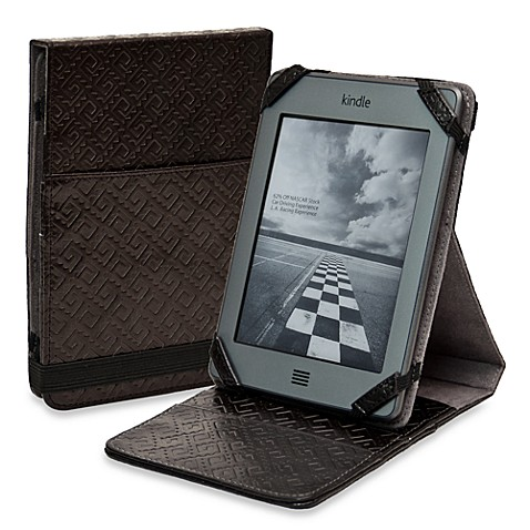 Sumdex®  CrossWork® Kindle/Kindle Touch Black Folio Stand