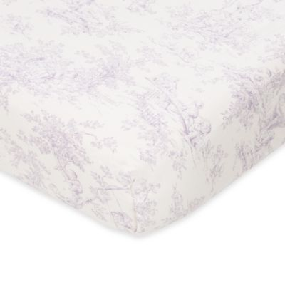 Fitted Cotton Crib Sheet Deep Pocket