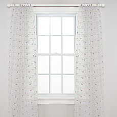 Glenna Jean Penelope Sheer 100-Inch Window Panels (Set of 2)