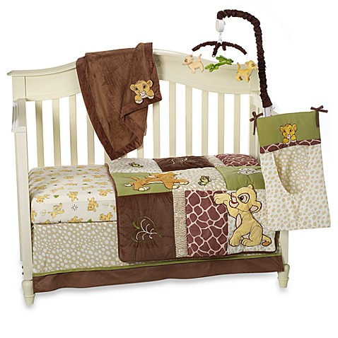 Disney baby lion king go wild crib bedding collection for Wild bedding