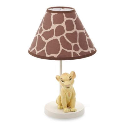 Crib Fashion Bedding > Disney Baby Lion King Go Wild Lamp & Shade