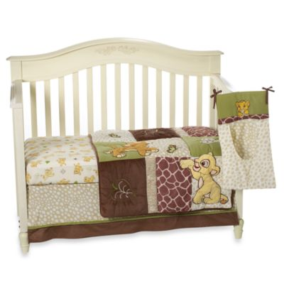Disney Baby Lion King Go Wild 4-Piece Crib Bedding Set