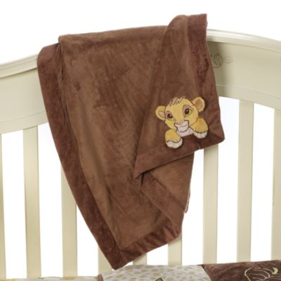 Crib Fashion Bedding > Disney Baby® Lion King Go Wild Blanket