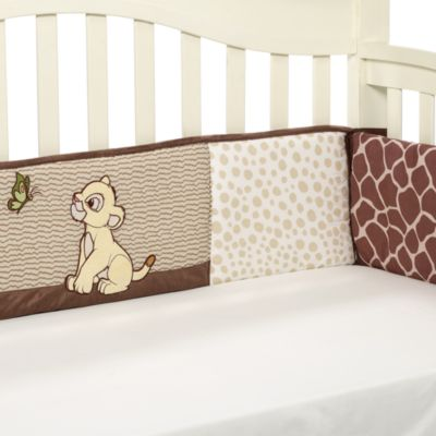 Crib Fashion Bedding > Disney Baby® Lion King Go Wild Crib Bumper