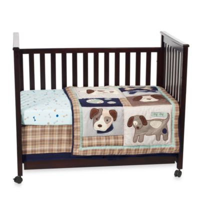 Sumersault Show Doggies 4-Piece Crib Bedding Set