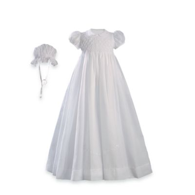 Little Things Mean A Lot Hand Smocking & Embroidered Gown