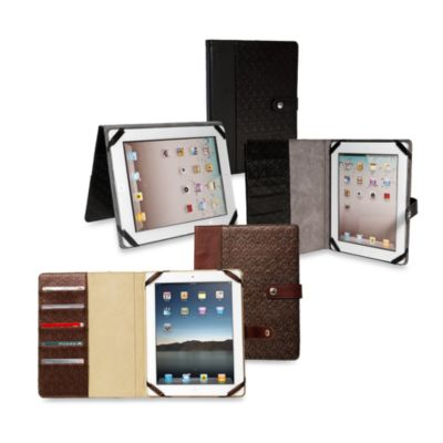 Sumdex® CrossWork® iPad/iPad 2 Folio Stand in Antique Brown