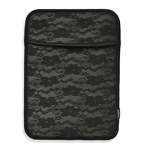 Sumdex®  Neoprene Black Lace Sleeve for MacBook Pro 13-Inch