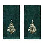 Glimmer Tree Hand Towels - Set of 2