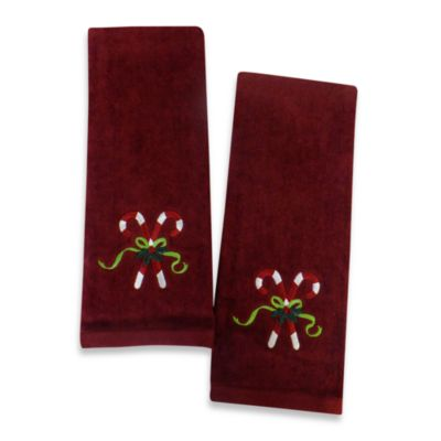 Burgundy Towels