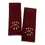 Candy Cane Hand Towels - Set of 2
