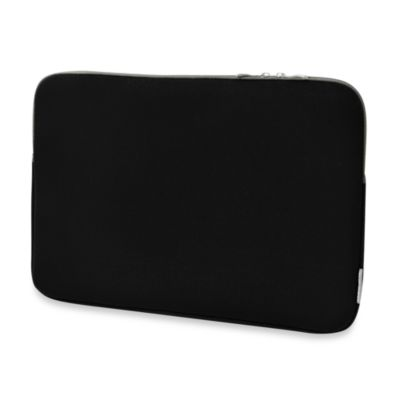 Sumdex® Neoprene Black Courier Sleeve for Notebook Computer up to 16-Inch