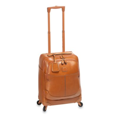 Bric's 21-Inch Carry On Pelle in Cognac