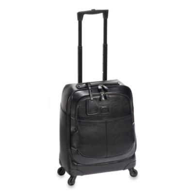 Bric's Black 21-Inch One-piece Carry-On Spinner