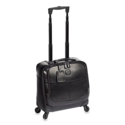 Bric's Black 4-wheel Pilot Luggage