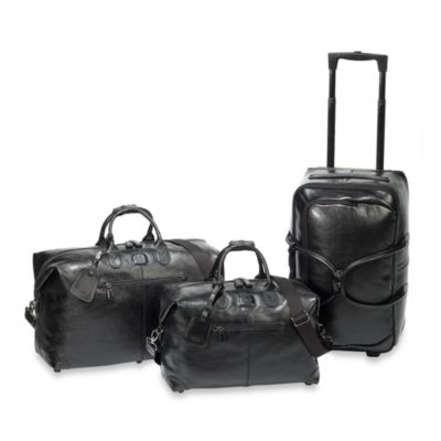 Bric's Black Duffle Collection