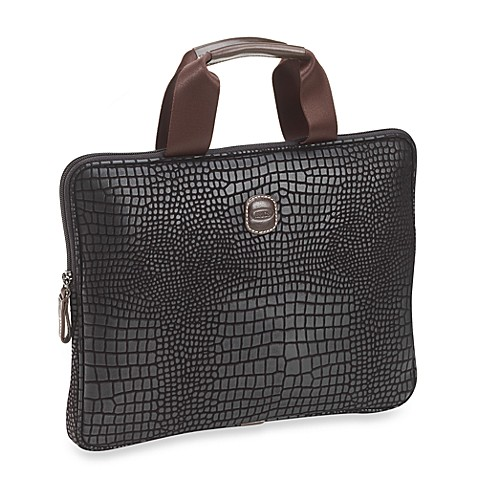 Bric's Laptop Bag Collection in Black
