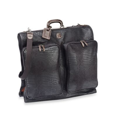 Bric's Garment Bag in Black