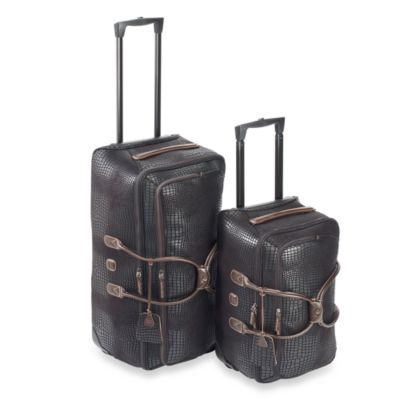 Bric's Luggage Safari Rolling Duffle Collection in Black