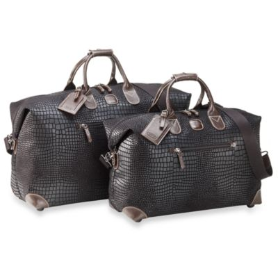 Bric's 1-piece Black Duffle Cargo Collection