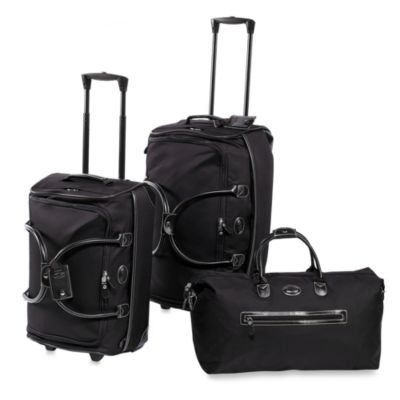 Bric's Pronto 21-Inch Rolling Duffle Bag in Black