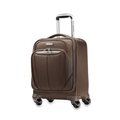 Samsonite® Silhouette Sphere 17-Inch Spinner Boarding Bag in Brown