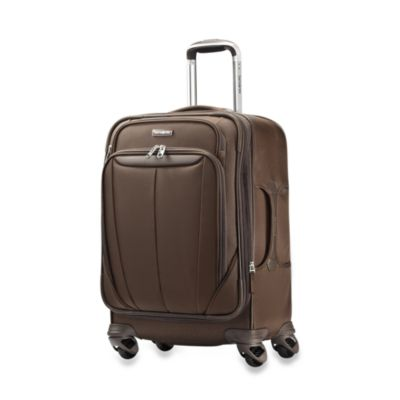 Samsonite® Silhouette Sphere 21-Inch Carry-On Spinner in Brown