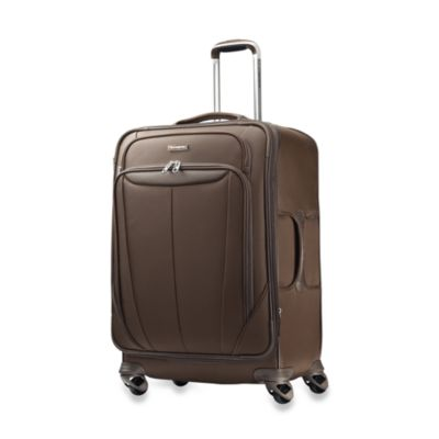 Samsonite® Silhouette Softside 25-Inch Widebody Spinner in Brown