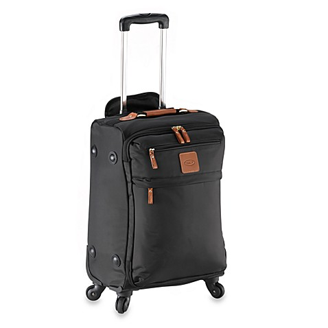 Bric's X-Bag 21-Inch Carry-On Spinner Trolley in Black