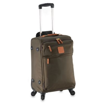 Bric's X-Travel Lightweight 21-Inch Carry-On Trolley in Olive