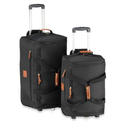 Bric's Xtravel Rolling 21-Inch Duffle Bag in Black