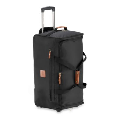 Bric's Xtravel Rolling 28-Inch Duffle Bag in Black
