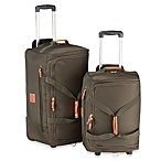 Bric's Xtravel Rolling Duffel Bag Collection in Olive