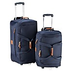 Bric's Xtravel Rolling Duffel Bag Collection in Navy