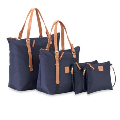 Bric's Xtravel Large Sportina Shopper Bag in Navy