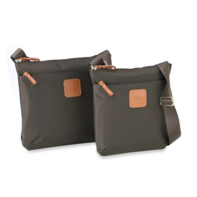 Bric's Xtravel Urban Envelope Bag Collection in Olive