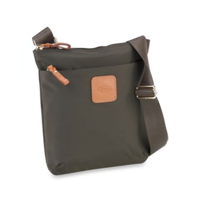 Bric's Xtravel Urban Small Envelope Bag in Olive