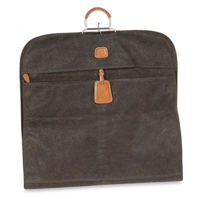 Bric's Garment Bag in Olive