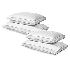 Real Simple® White Down/Feather, 100% Cotton, 350 Thread Count Extra Firm Density Pillows