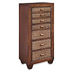 Home Styles Cabana Banana Cocoa Lingerie and Jewelry Chest